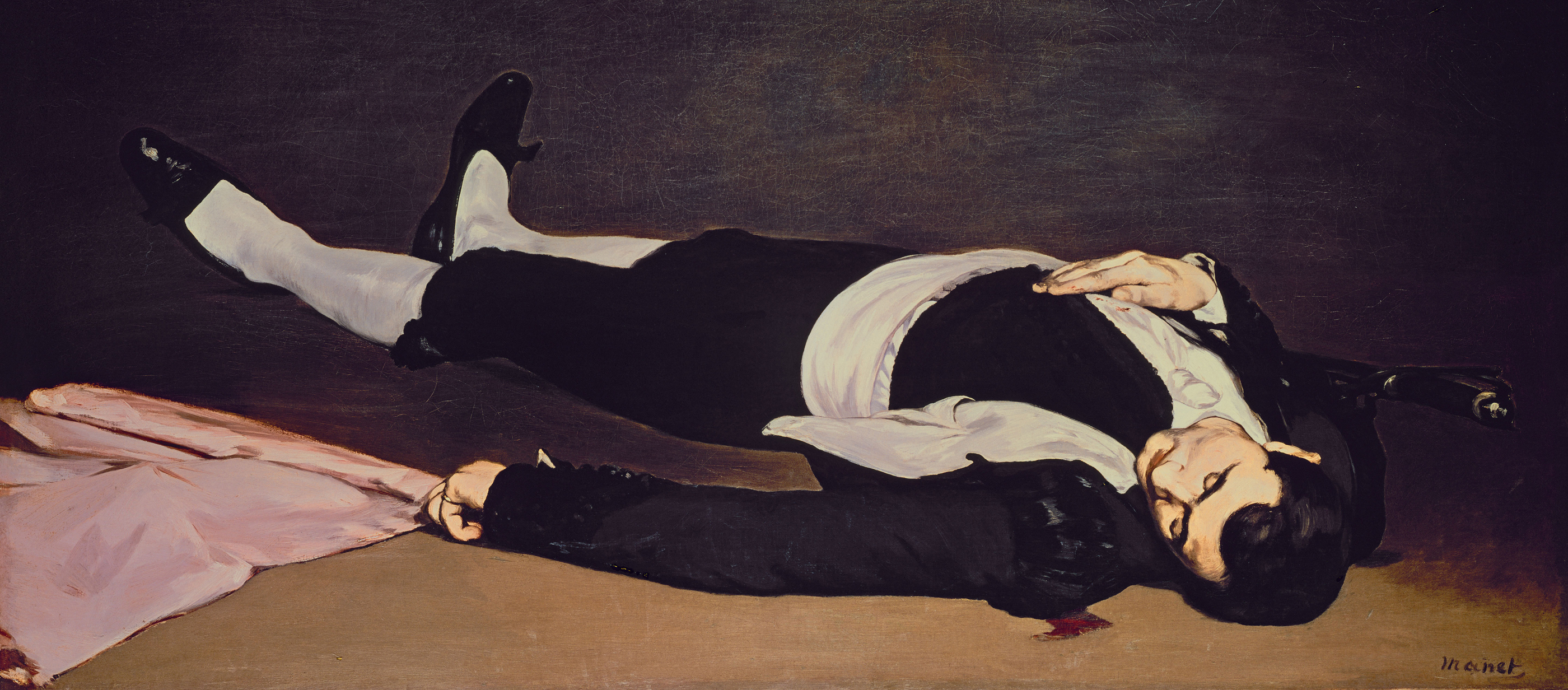 The Dead Toreador, by Édouard Manet, c. 1864.