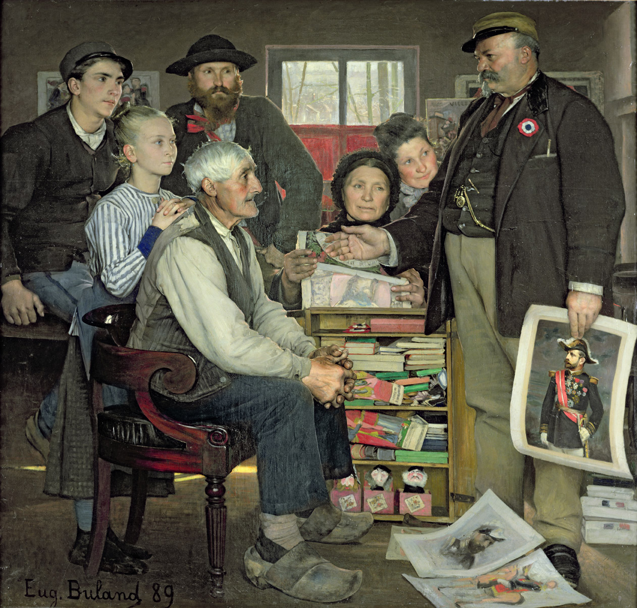 Propaganda, by Eugène Buland, 1889. Musee d'Orsay, Paris.