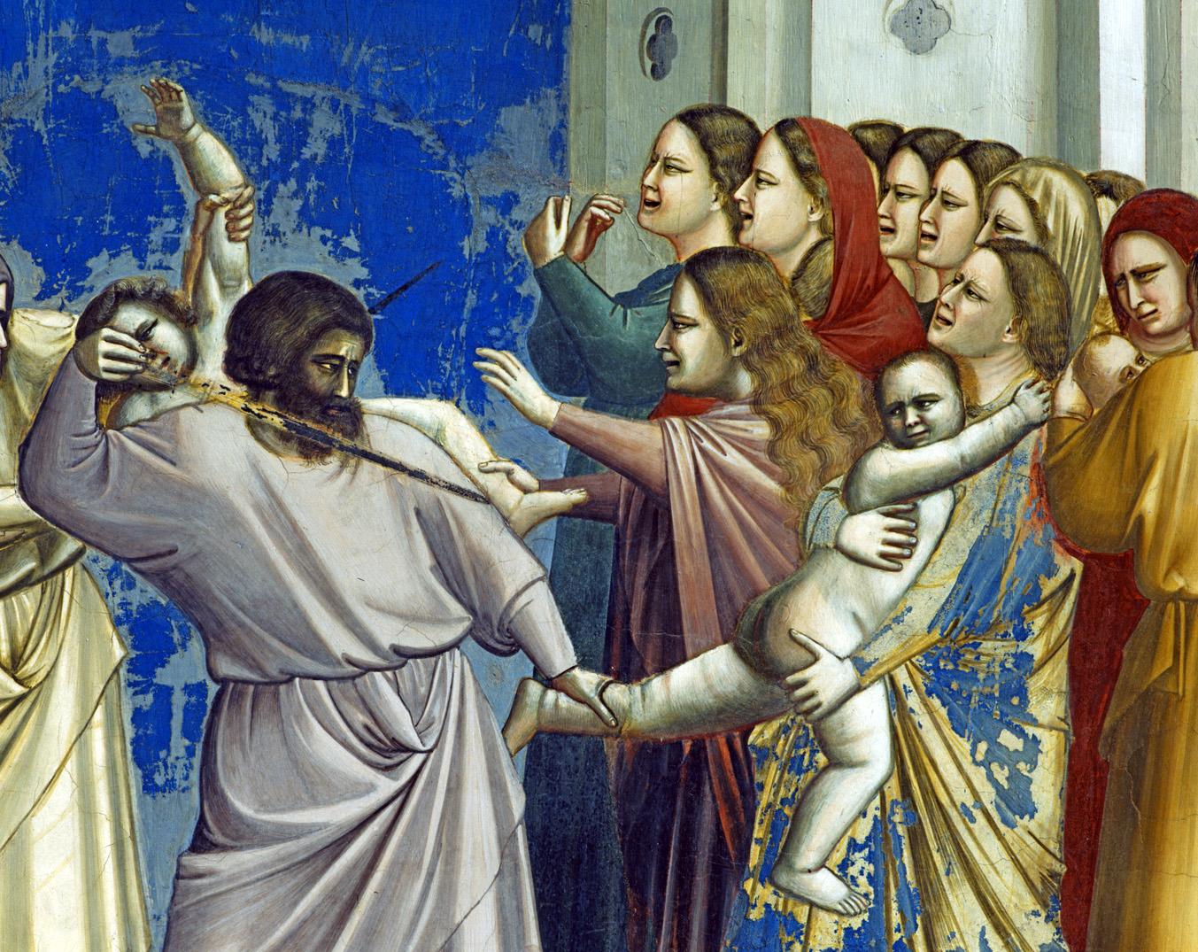 Massacre of the Innocents, by Giotto di Bondone, c. 1305