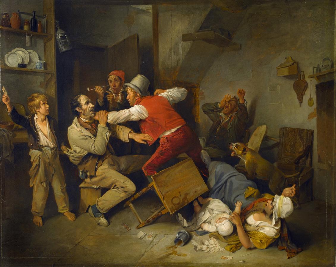 The Cheat Detected, 1814, by Edward Bird. Sir John Soane's Museum, London.
