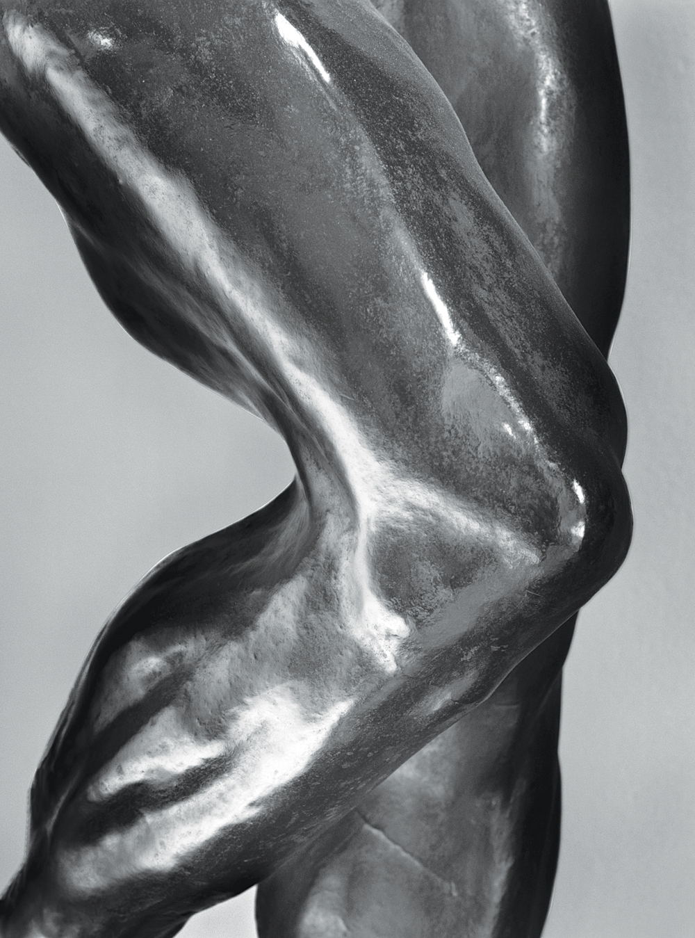 """Knees, Rodin # 22,"" 2004. Photograph by Michael Eastman. © Michael Eastman."