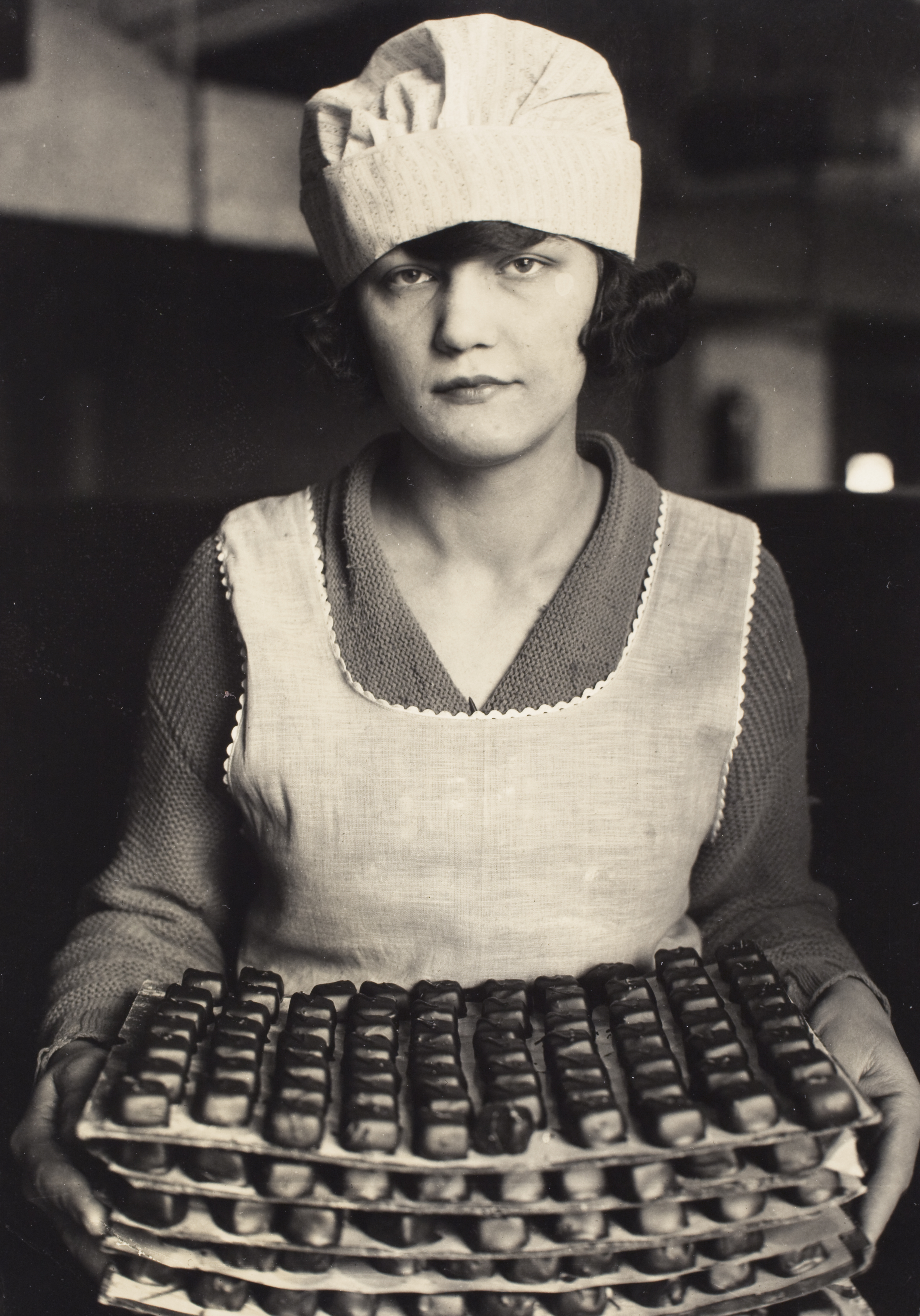 Candy worker, c. 1925. Photograph by Lewis W. Hine. Courtesy George Eastman House.