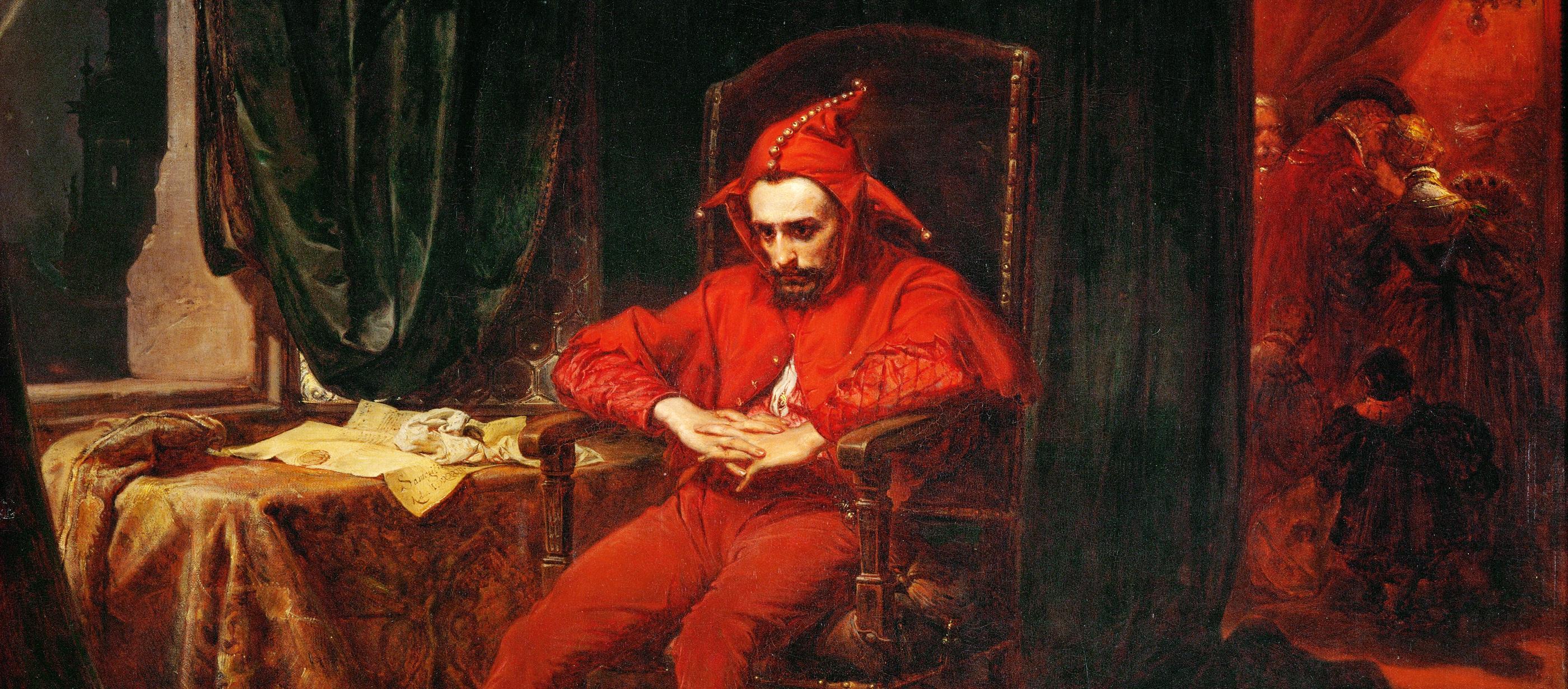 Stanczyk, by Jan Matejko, 1862.
