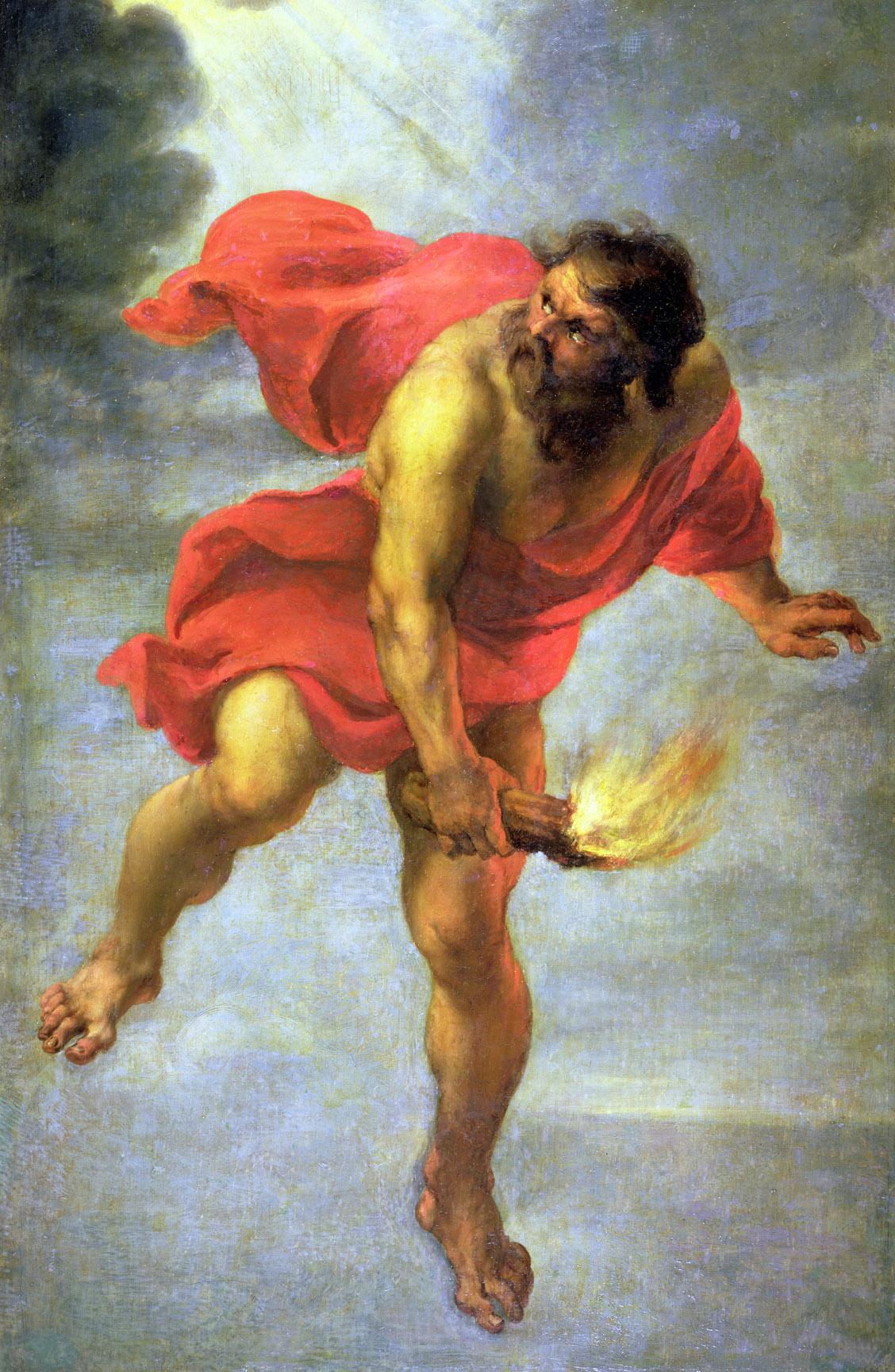Prometheus Bringing Fire
