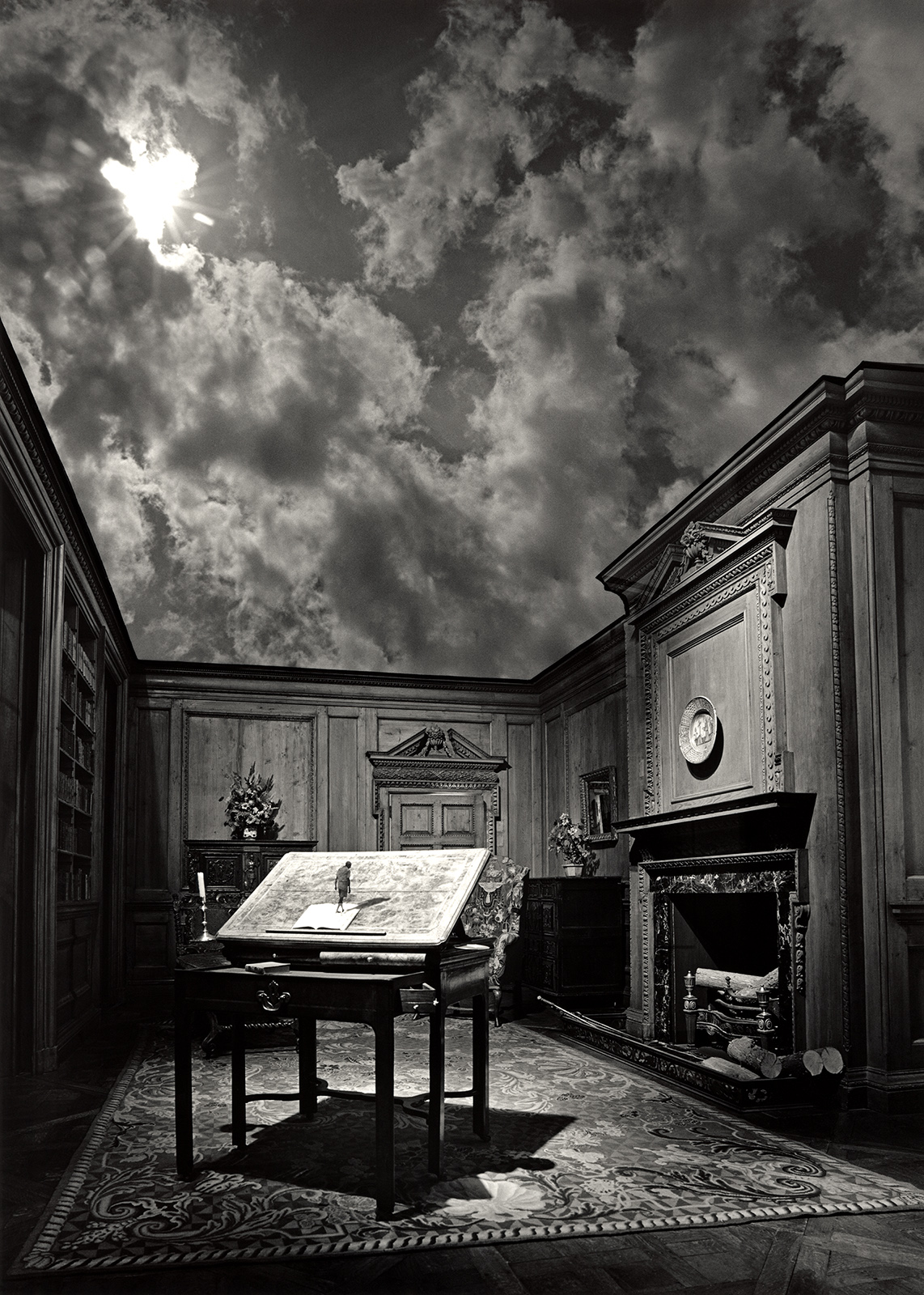 Untitled, by Jerry Uelsmann, 1976.