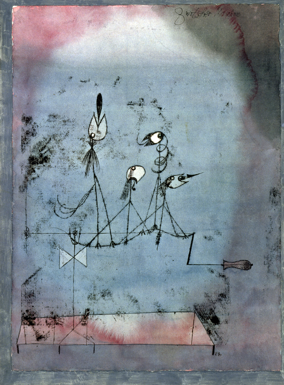 3. Twittering Machine, by Paul Klee, 1922. © The Museum of Modern Art, New York.