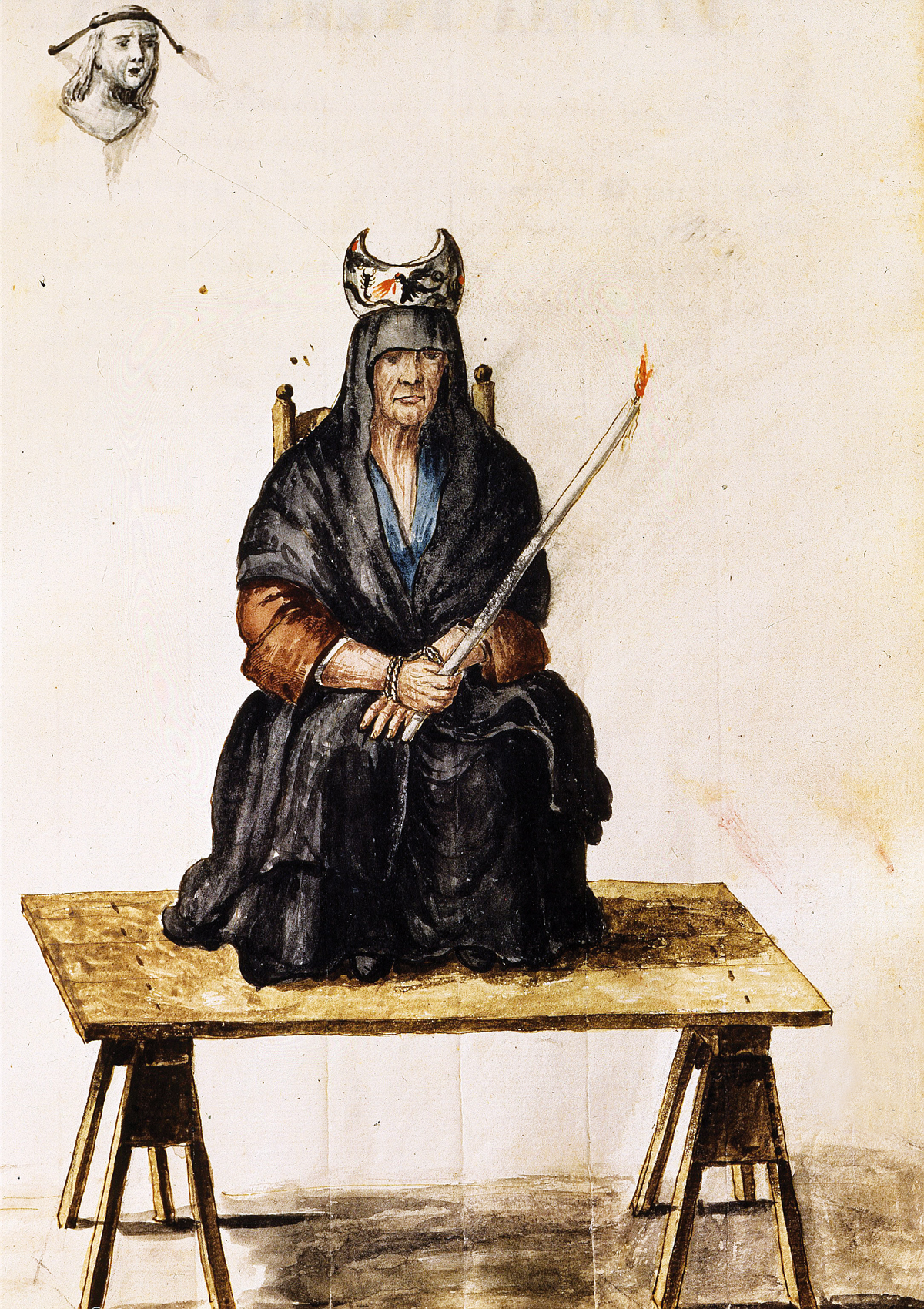 Punishment of a Sorceress, by Jan van Grevenbroeck, eighteenth century.