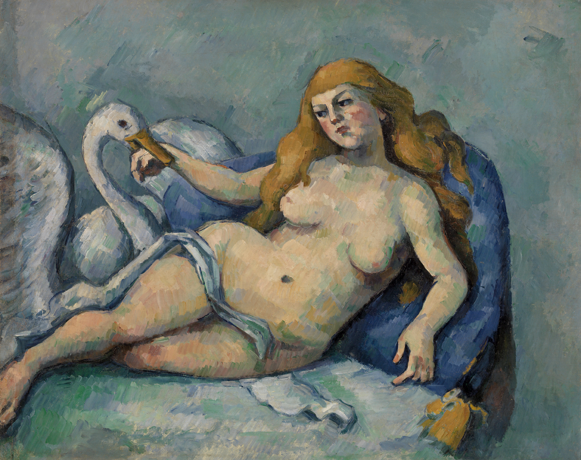 Leda and the Swan, by Paul Cézanne, c. 1880.