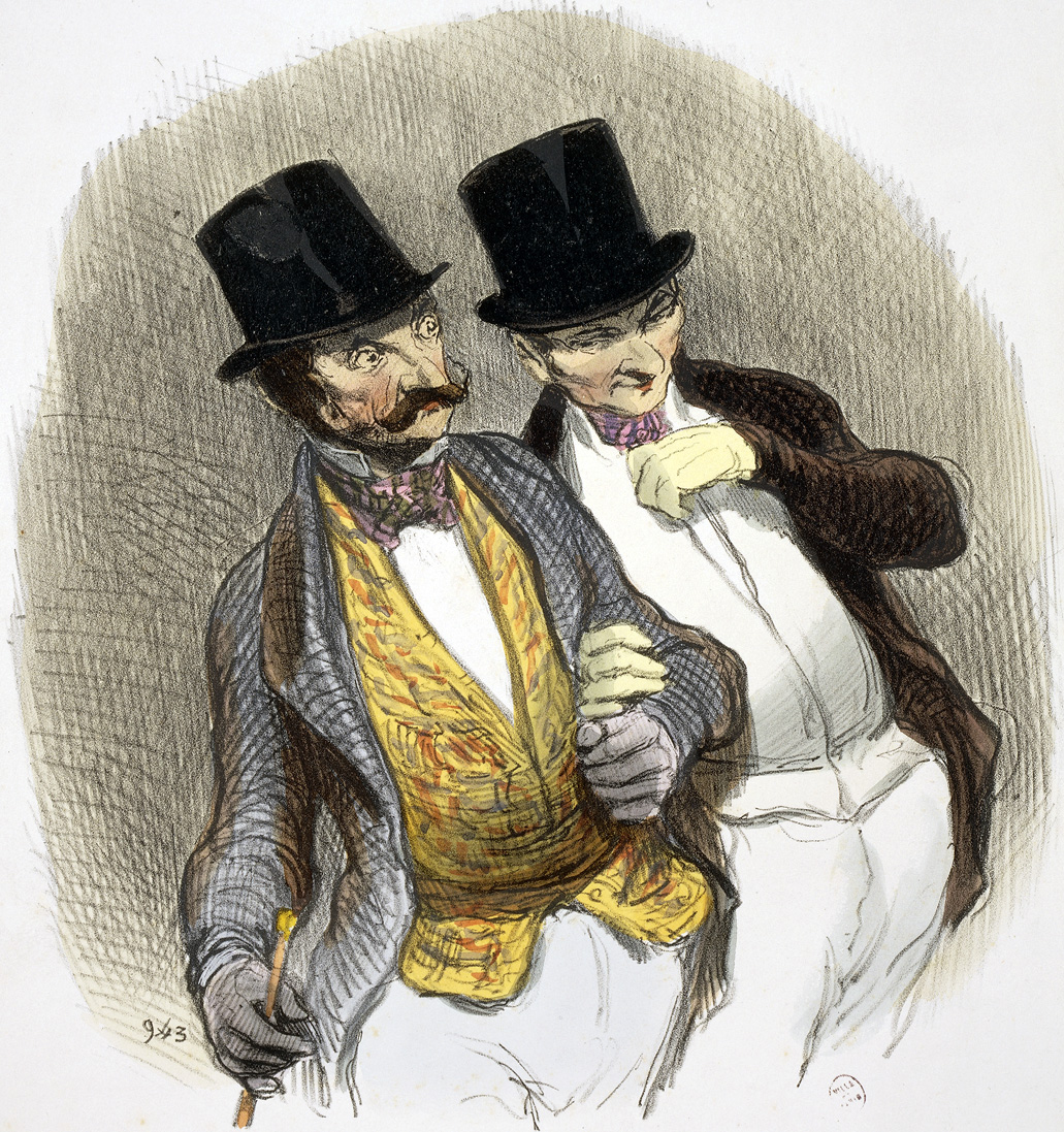 Having Just Fleeced Someone, by Honoré Daumier, 1846. © Gianni Dagli Orti/ The Art Archive at Art Resource, NY