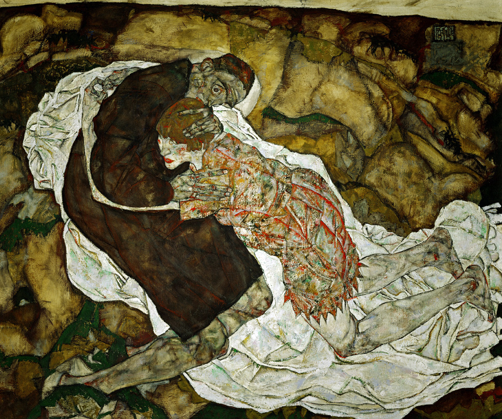 Death and the Maiden, by Egon Schiele, 1915.