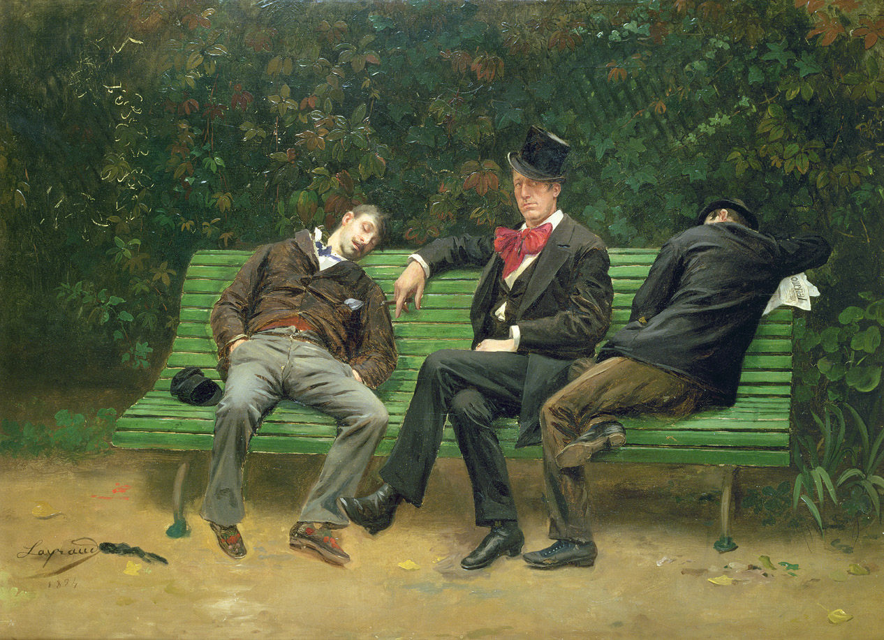 The Morning After, by Joseph Fortuné Séraphin Layraud, 1884.