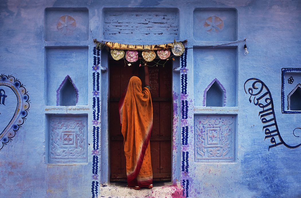 Wedding Wall, Naoli, Madhya Pradesh, India, by Jeffrey Becom, 2008.