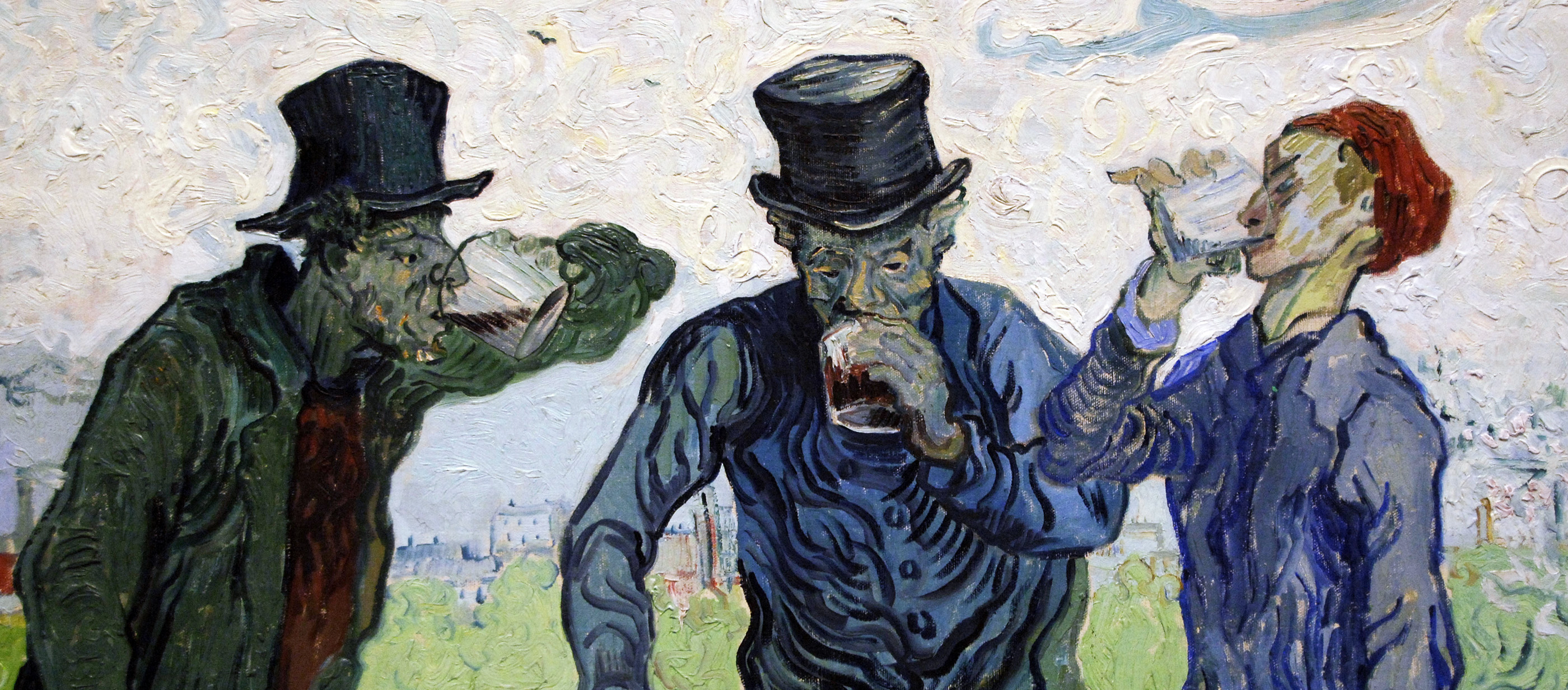 The Drinkers, by Vincent Van Gogh, 1890