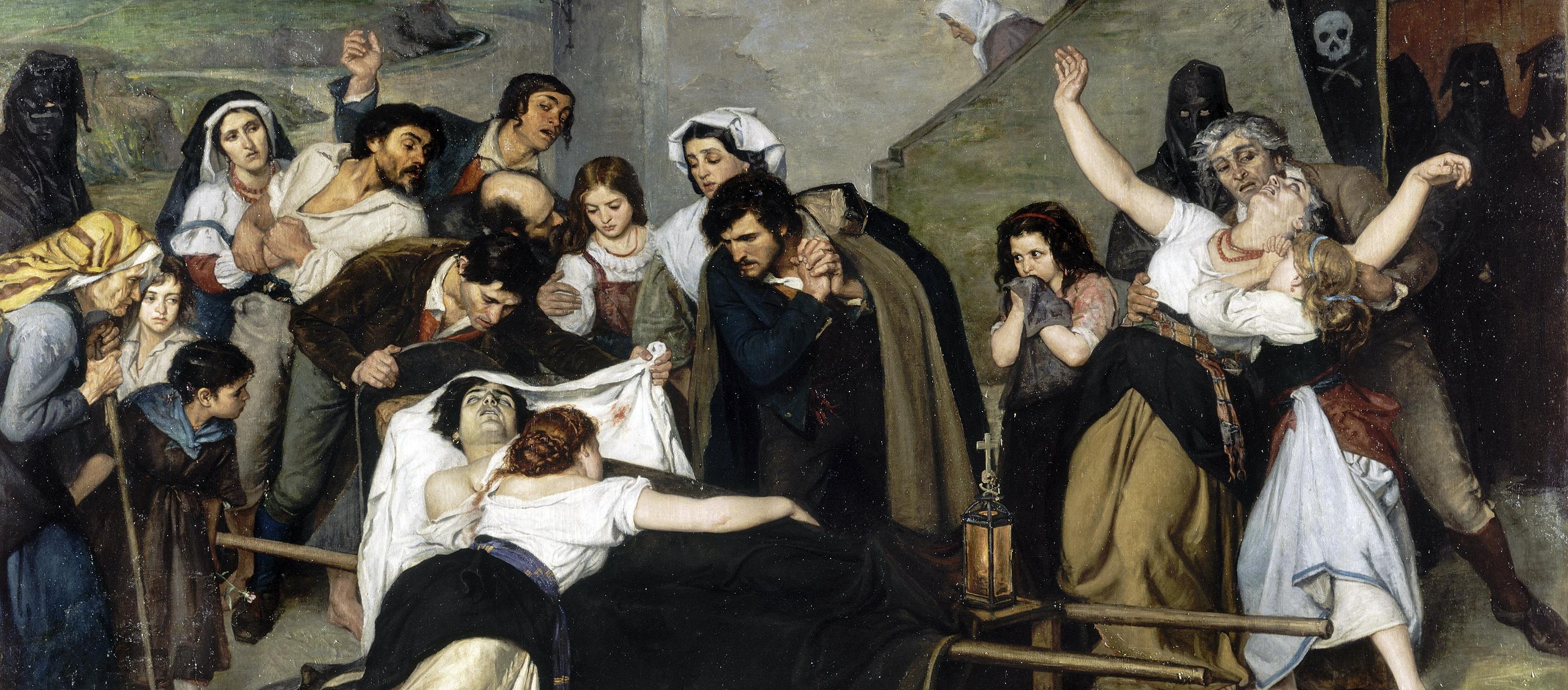 The Murdered Man, by Carolus-Duran, 1866.