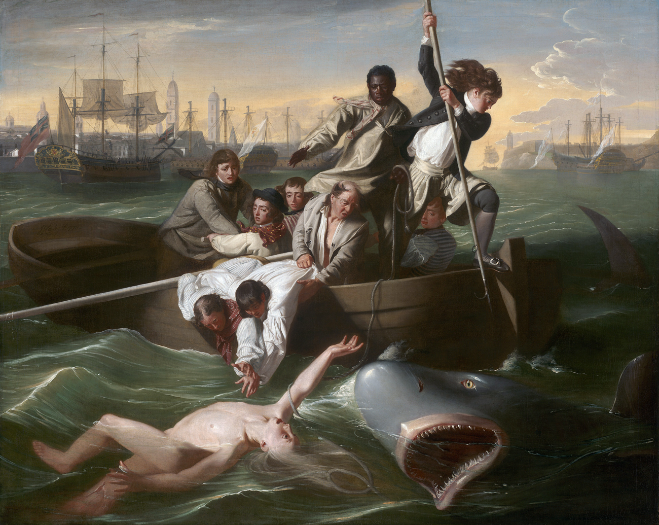 Watson and the Shark, by John Singleton Copley, 1778.