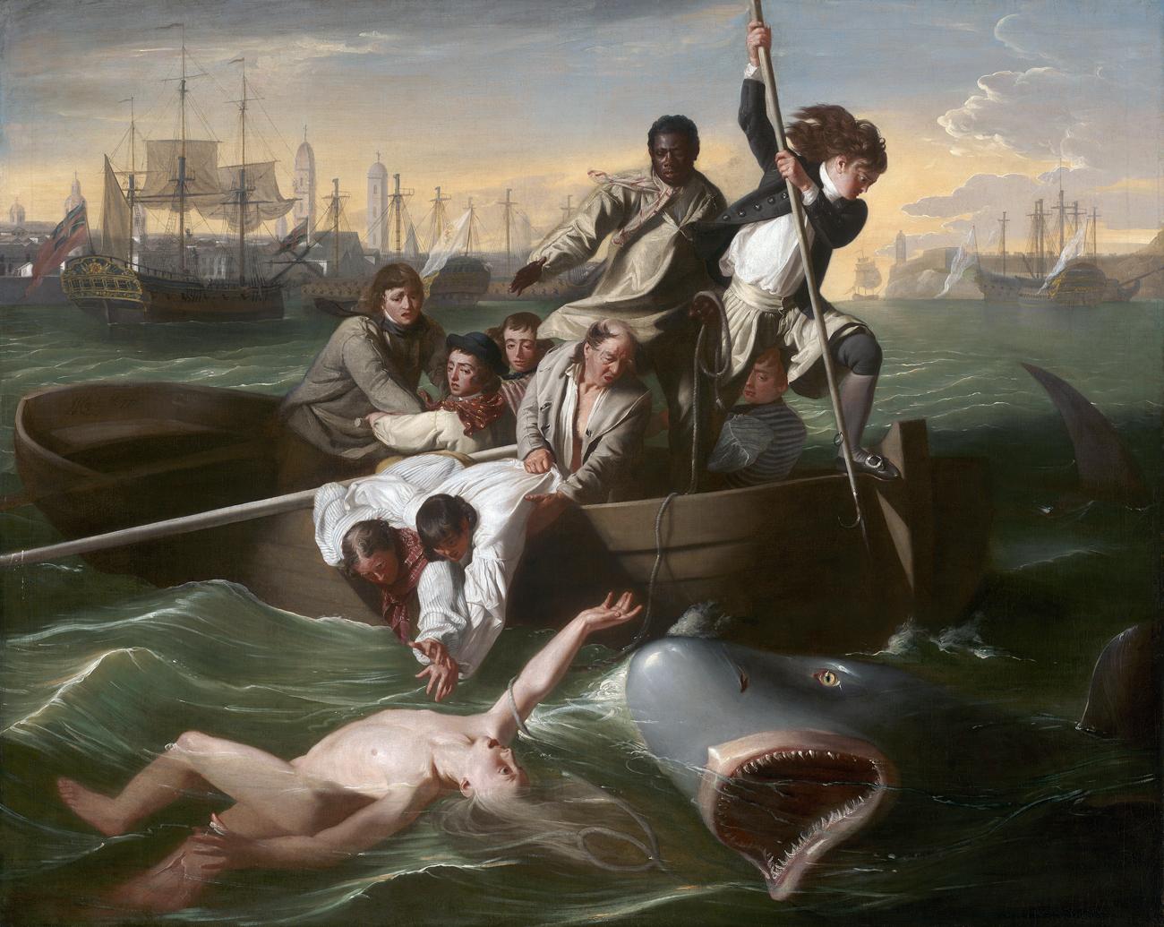 Watson and the Shark, by John Singleton Copley, 1778.