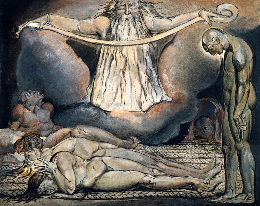 The House of Death, by William Blake, c. 1795.