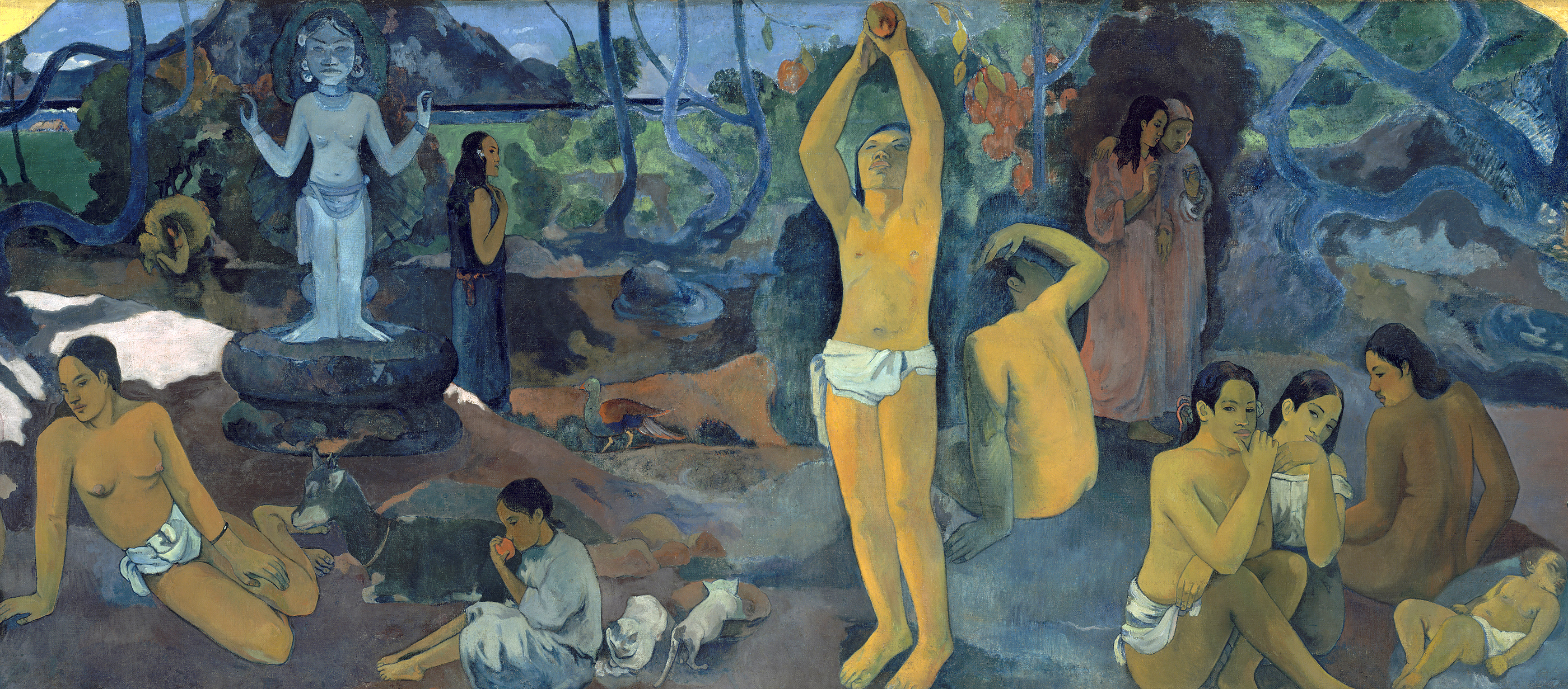 Where Do We Come From? What Are We? Where Are We Going?, by Paul Gauguin, 1897–1898.