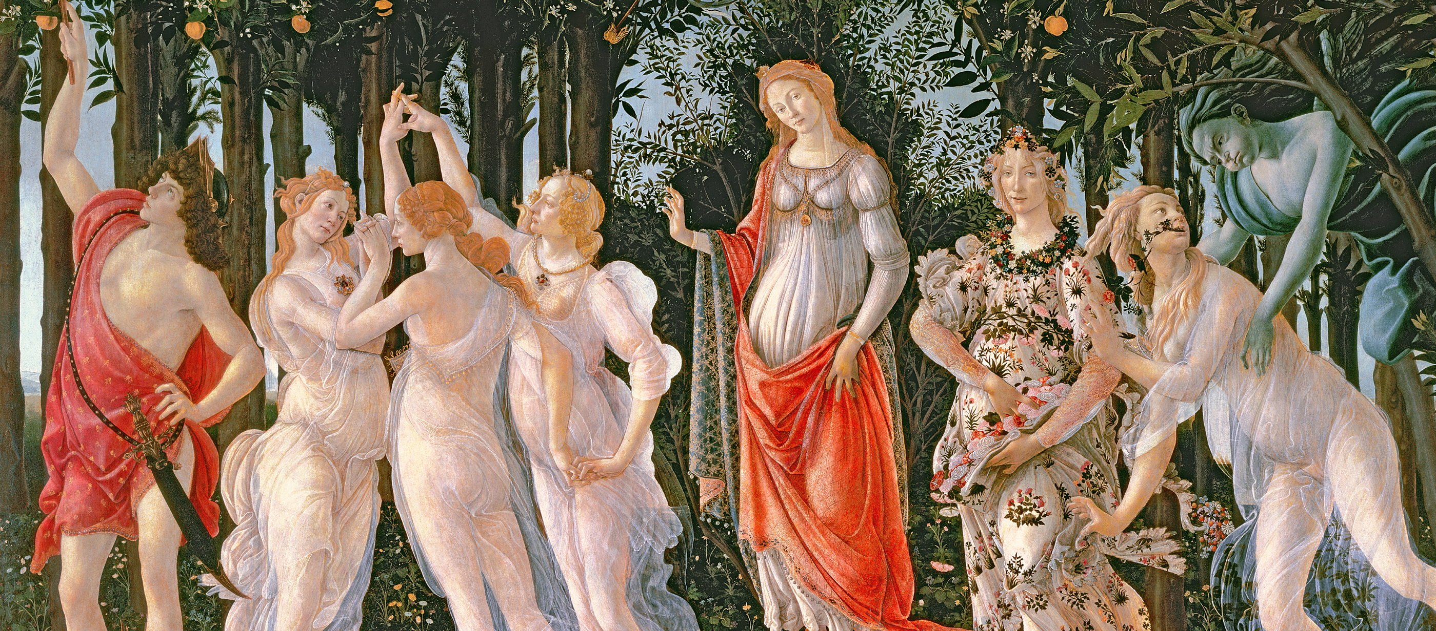The Allegory of Spring, painting by Sandro Botticelli,