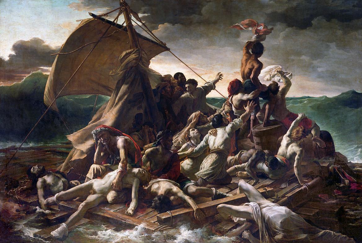 The Raft of the Medusa, by Théodore Géricault, 1819.