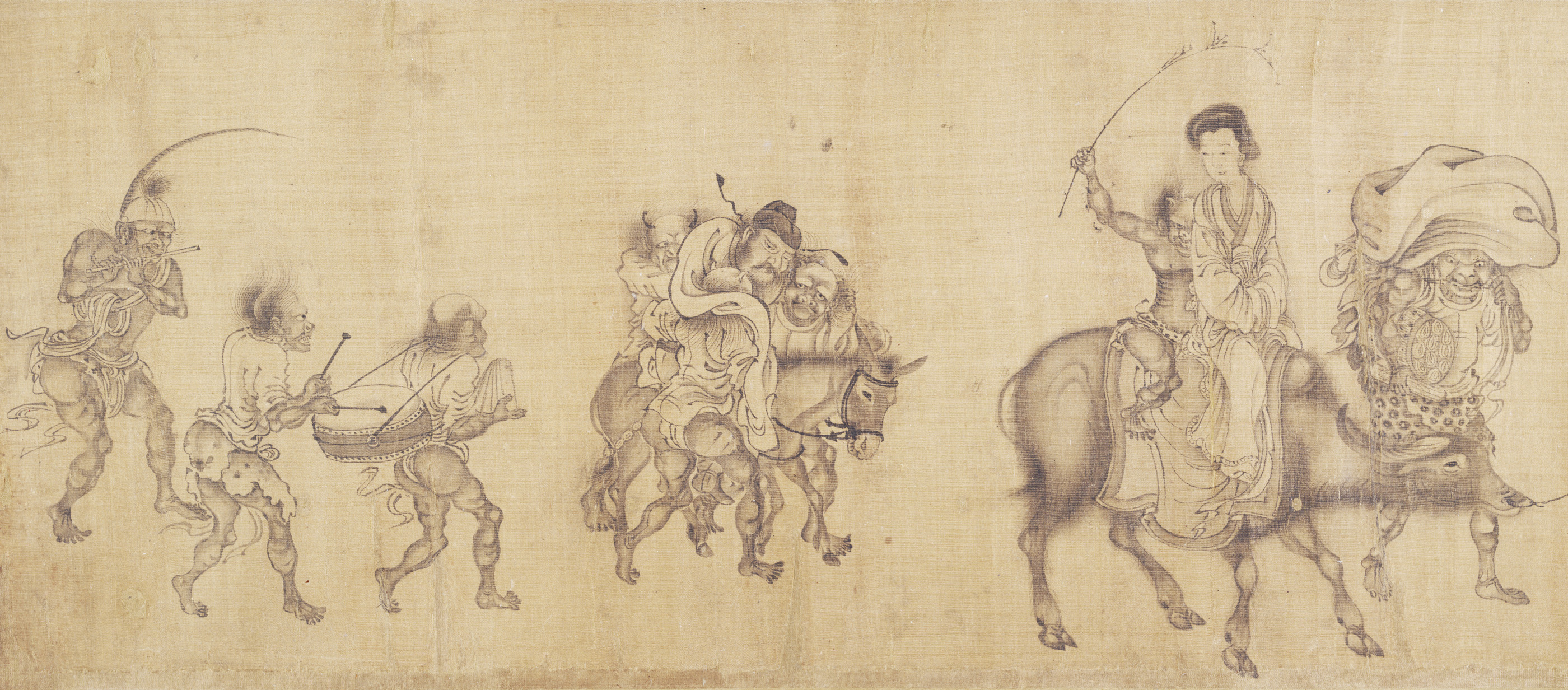 The Demon-Queller Zhong Kui Giving His Sister Away in Marriage
