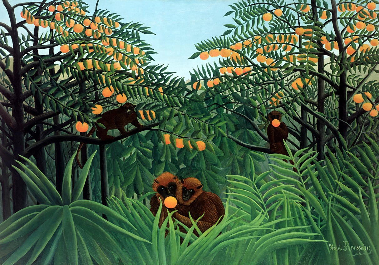 The Tropics, by Henri Rousseau, 1907.