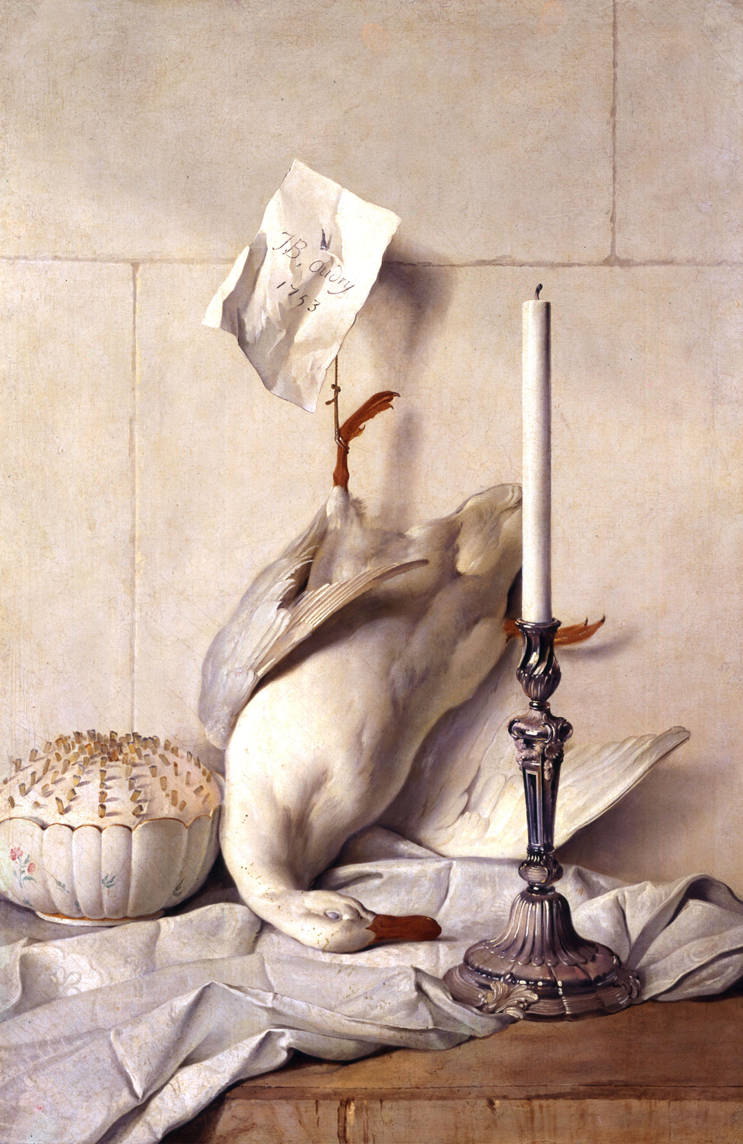 The White Duck, Jean-Baptiste Oudry, 1753.