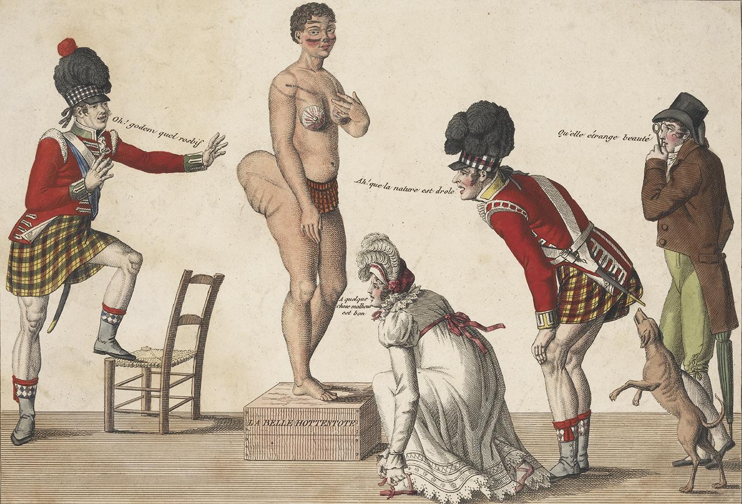 Hottentot Venus, 1815