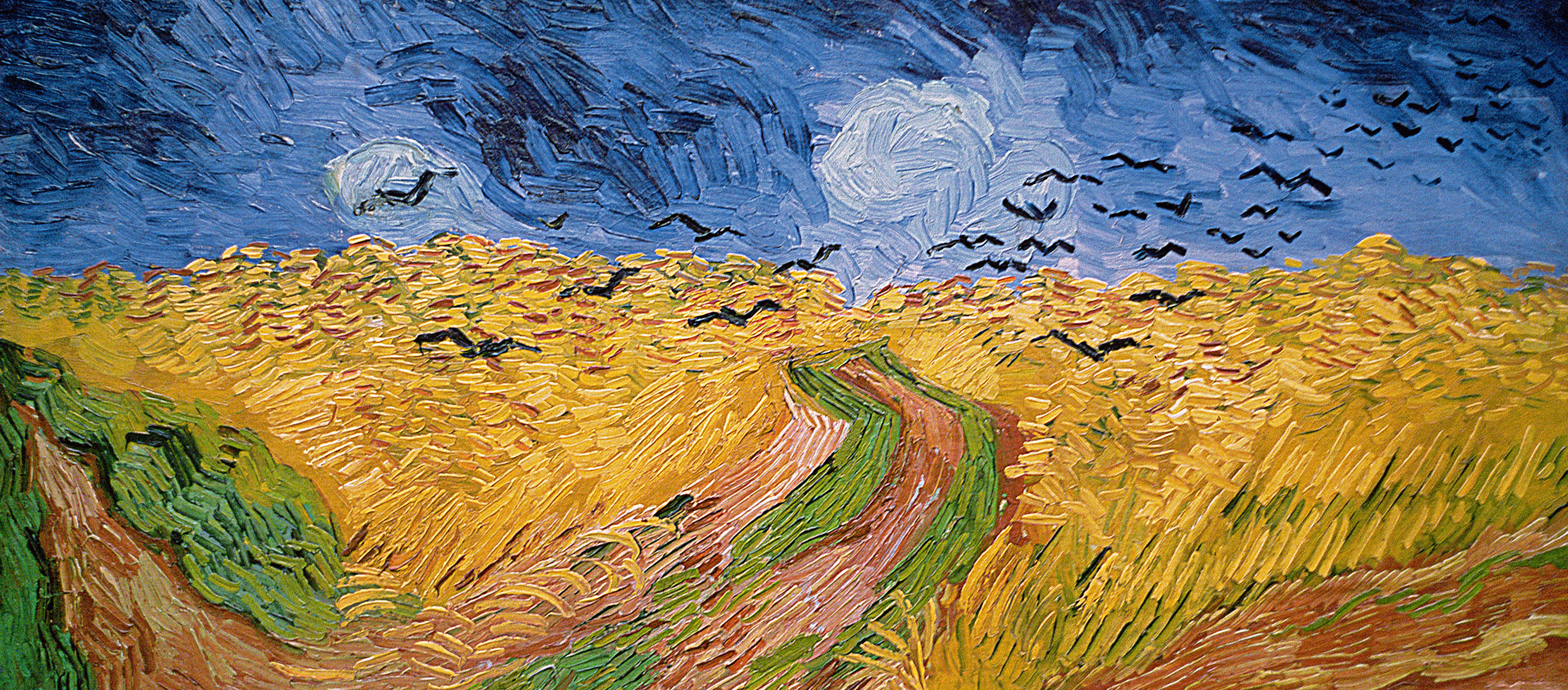 Wheatfield with Crows, by Vincent van Gogh, 1890