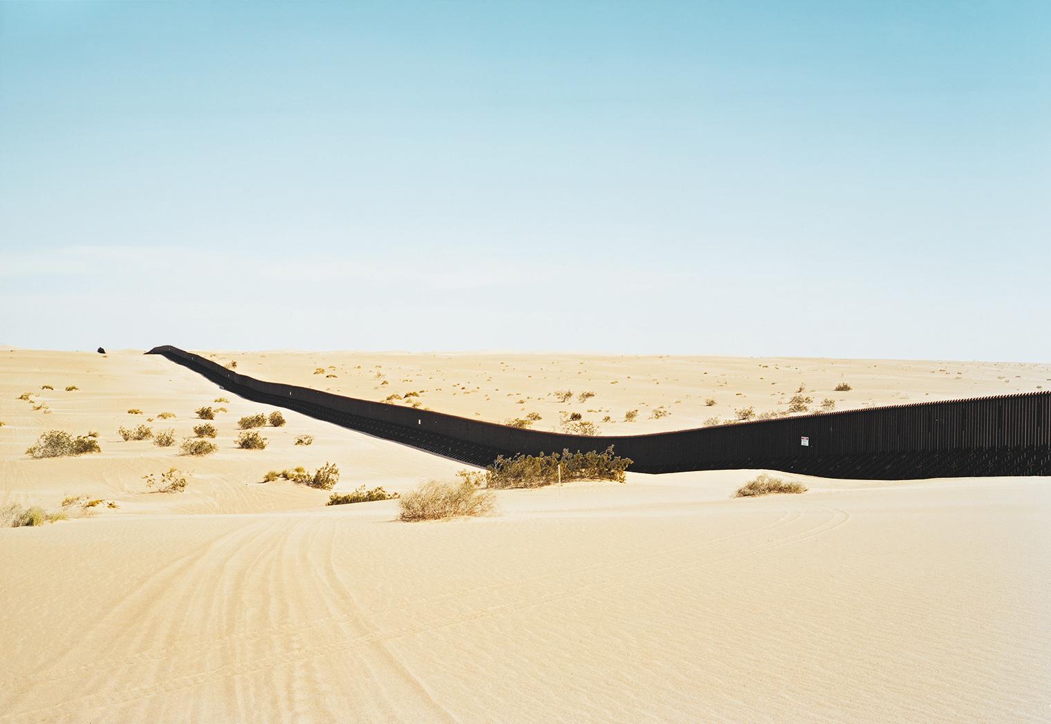 Untitled (Dunes) near El Centro, California, from The Border Series, by Victoria Sambunaris, 2010.