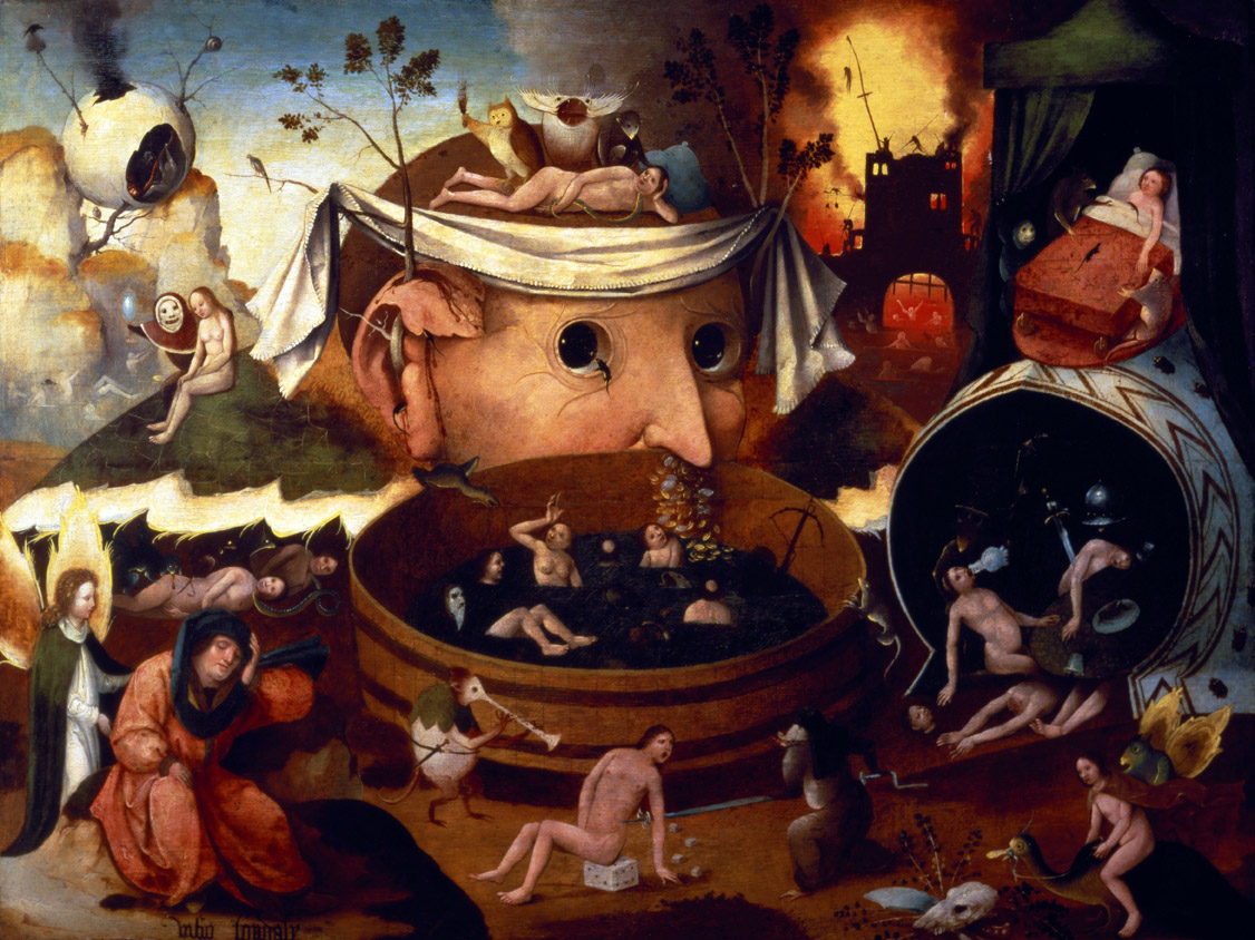 Tondal's Vision, anonymous imitation of Hieronymus Bosch. Museum of Lázaro Galdiano, Madrid.