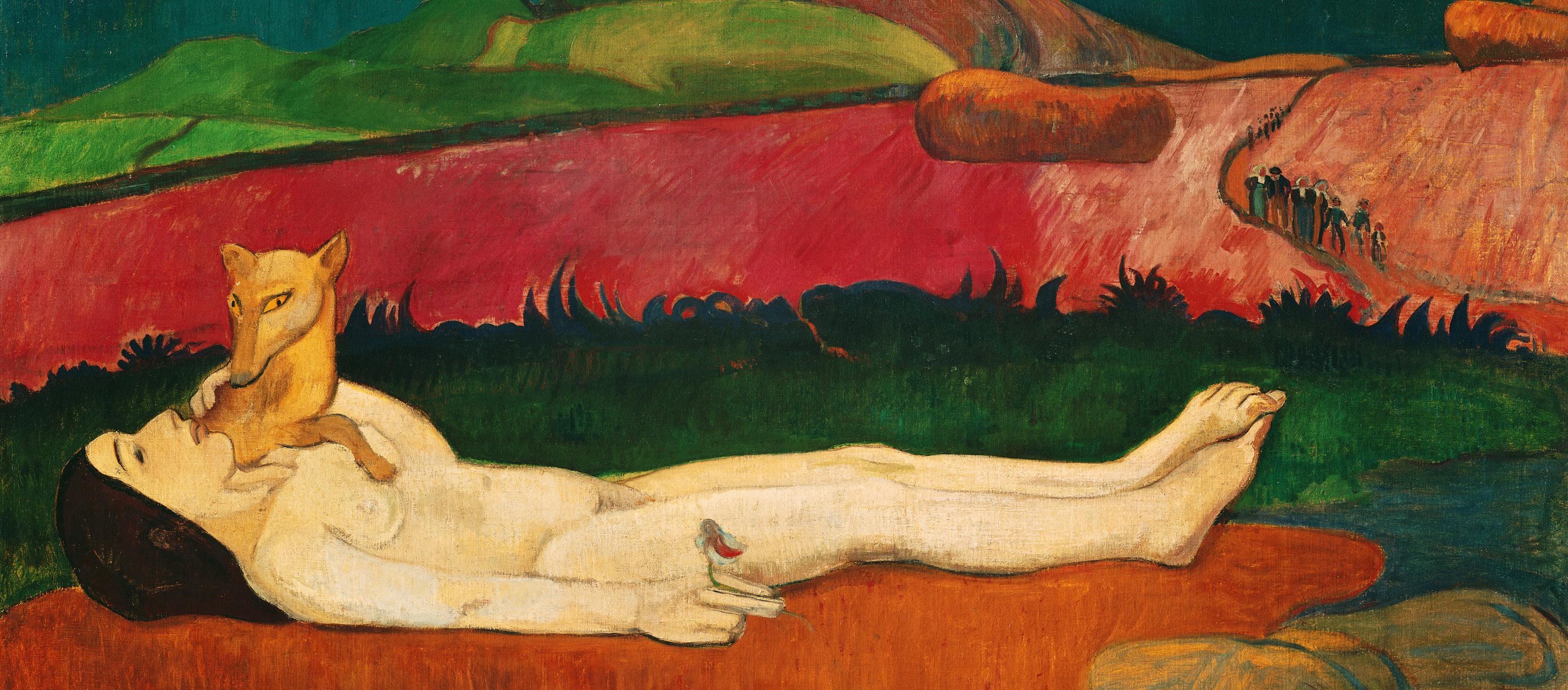 Loss of Virginity, by Paul Gauguin, 1890–1891.