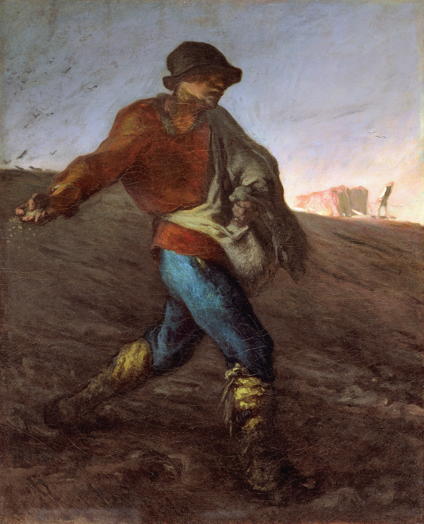 The Sower, by Jean-Françios Millet, 1850. Museum of Fine Arts, Boston, Massachusetts.