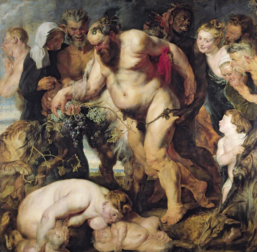 The Drunken Silenus, by Peter Paul Rubens, c. 1617