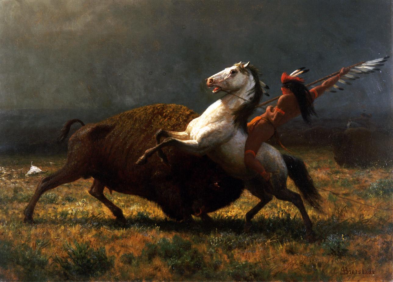 The Last of the Buffalo, by Albert Bierstadt, 1888.