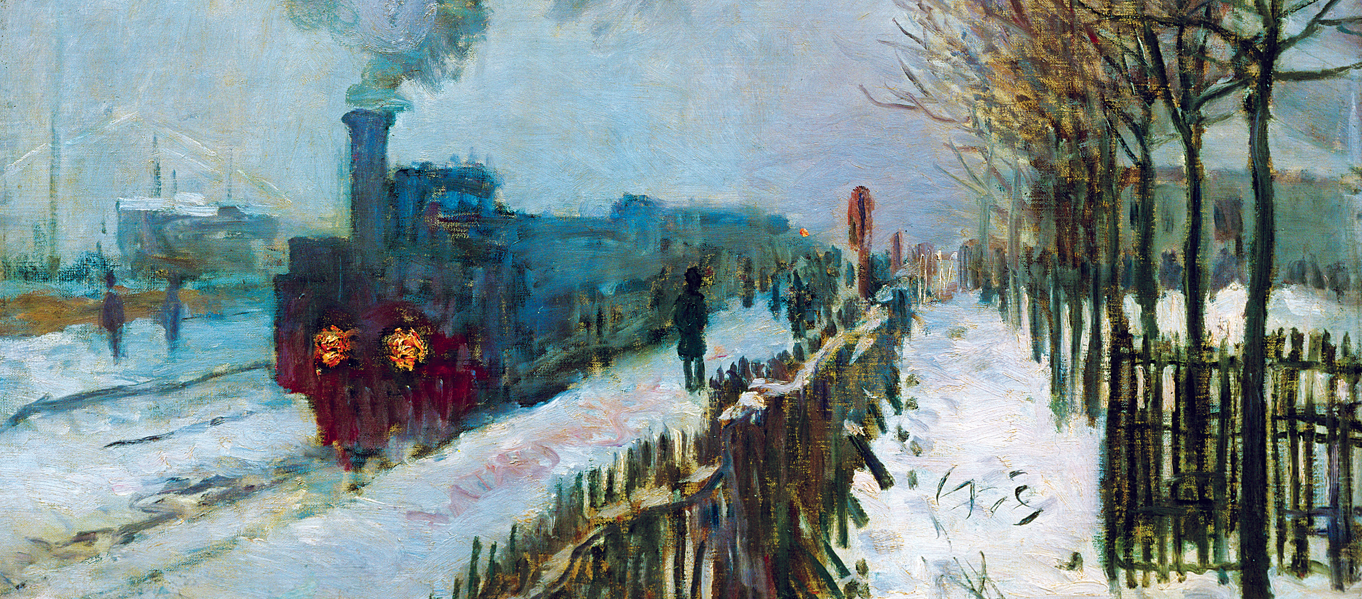 Train in the Snow, by Claude Monet, 1875. Musée Marmottan Monet, Paris, France.