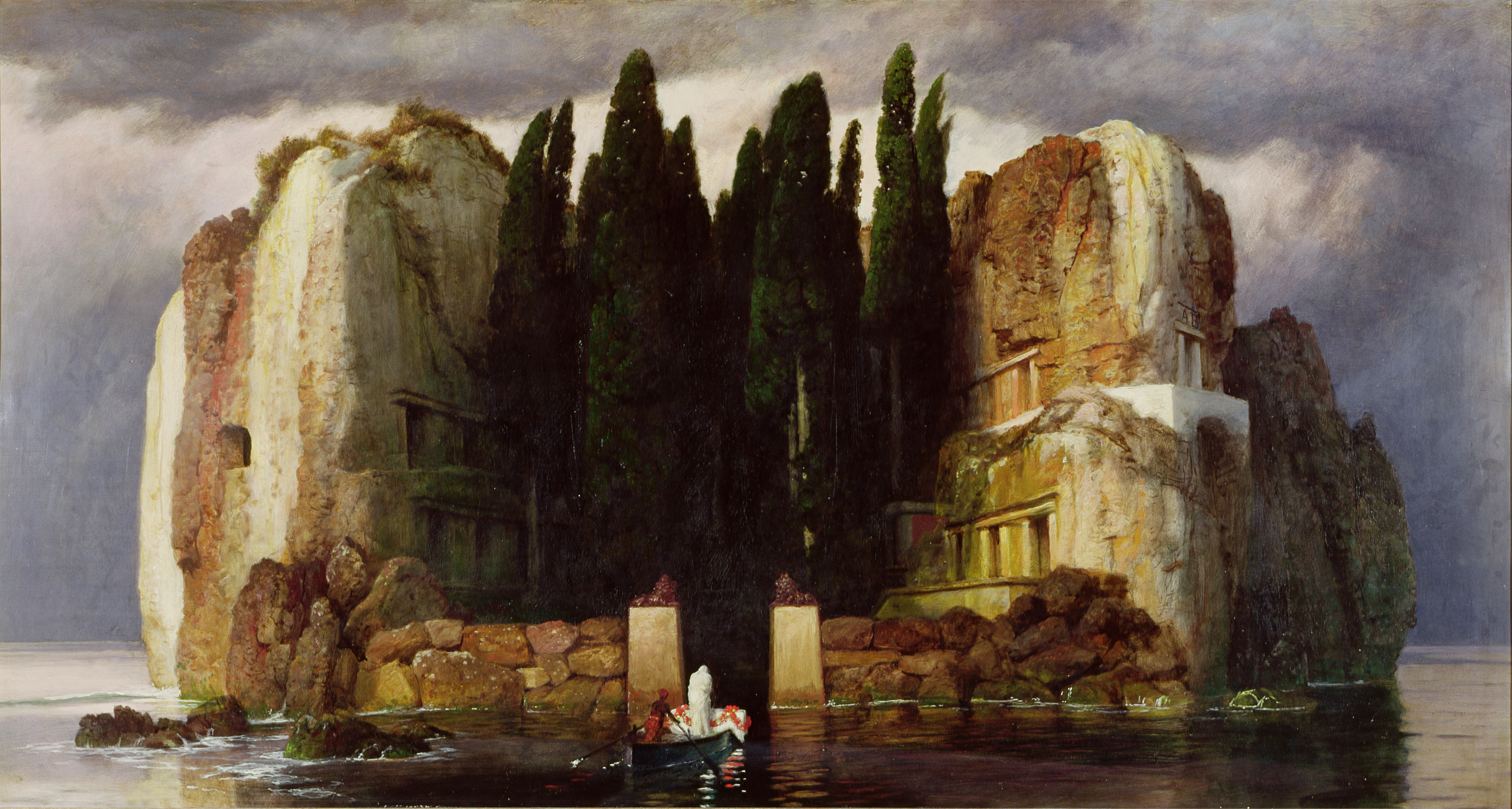The Isle of the Dead V, by Arnold Böcklin, 1886.