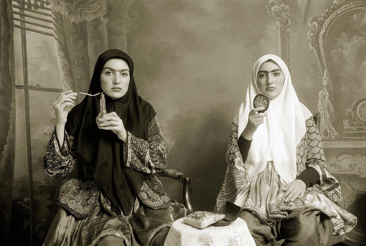 Qajar, by Shadi Ghadiran, 1998.
