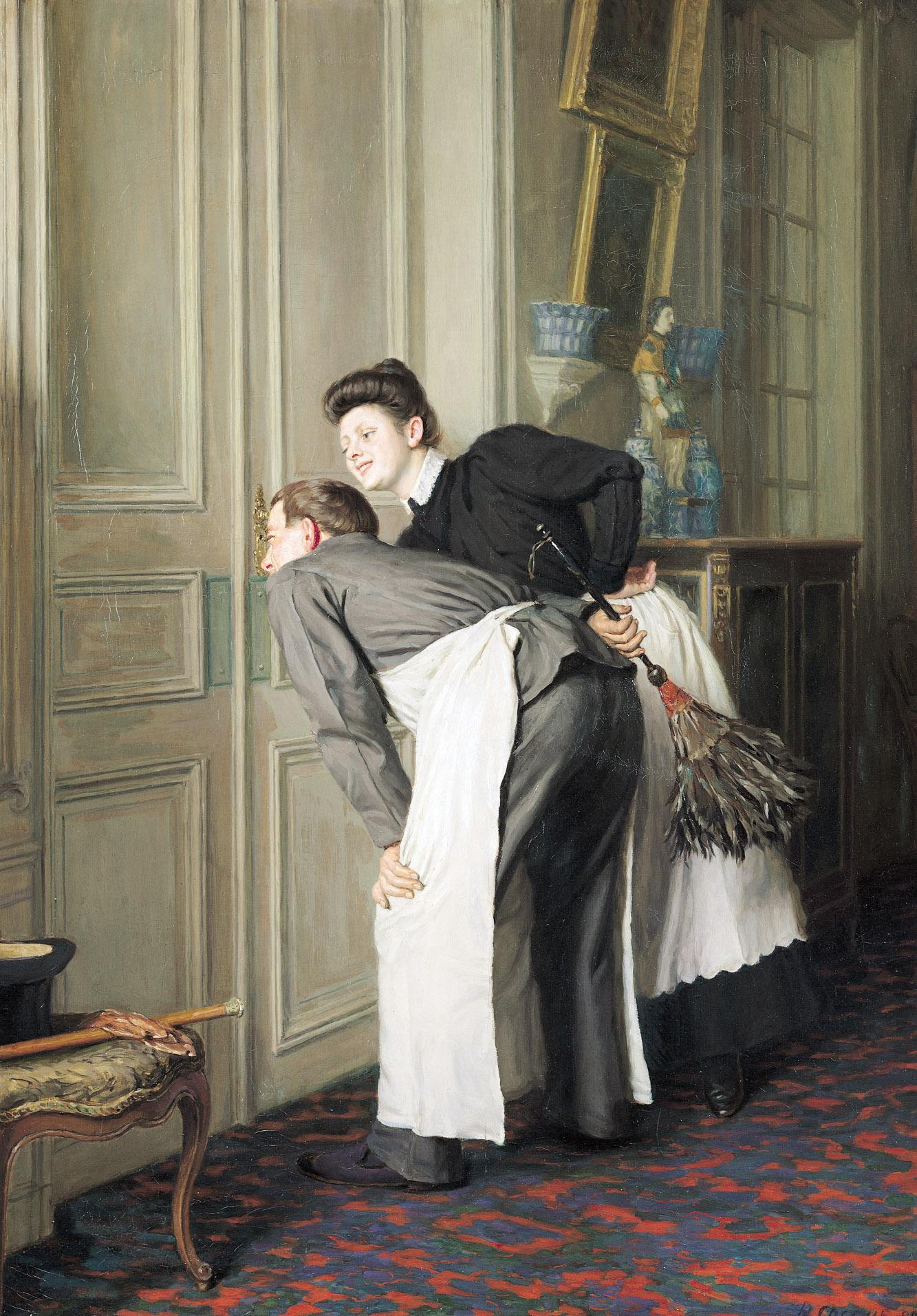 Madame Recoit, by Remy Cogghe, 1908. Musée d'Art et d'Industrie de Roubaix, France.