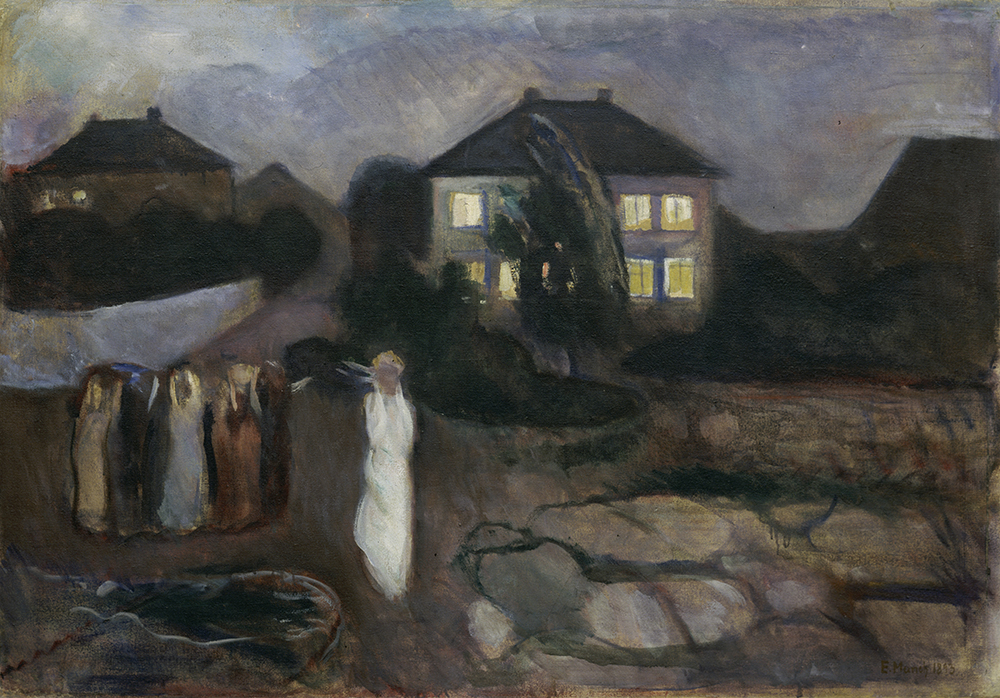 The Storm, by Edvard Munch, 1893. Digital image © The Museum of Modern Art/Licensed by SCALA / Art Resource, NY.