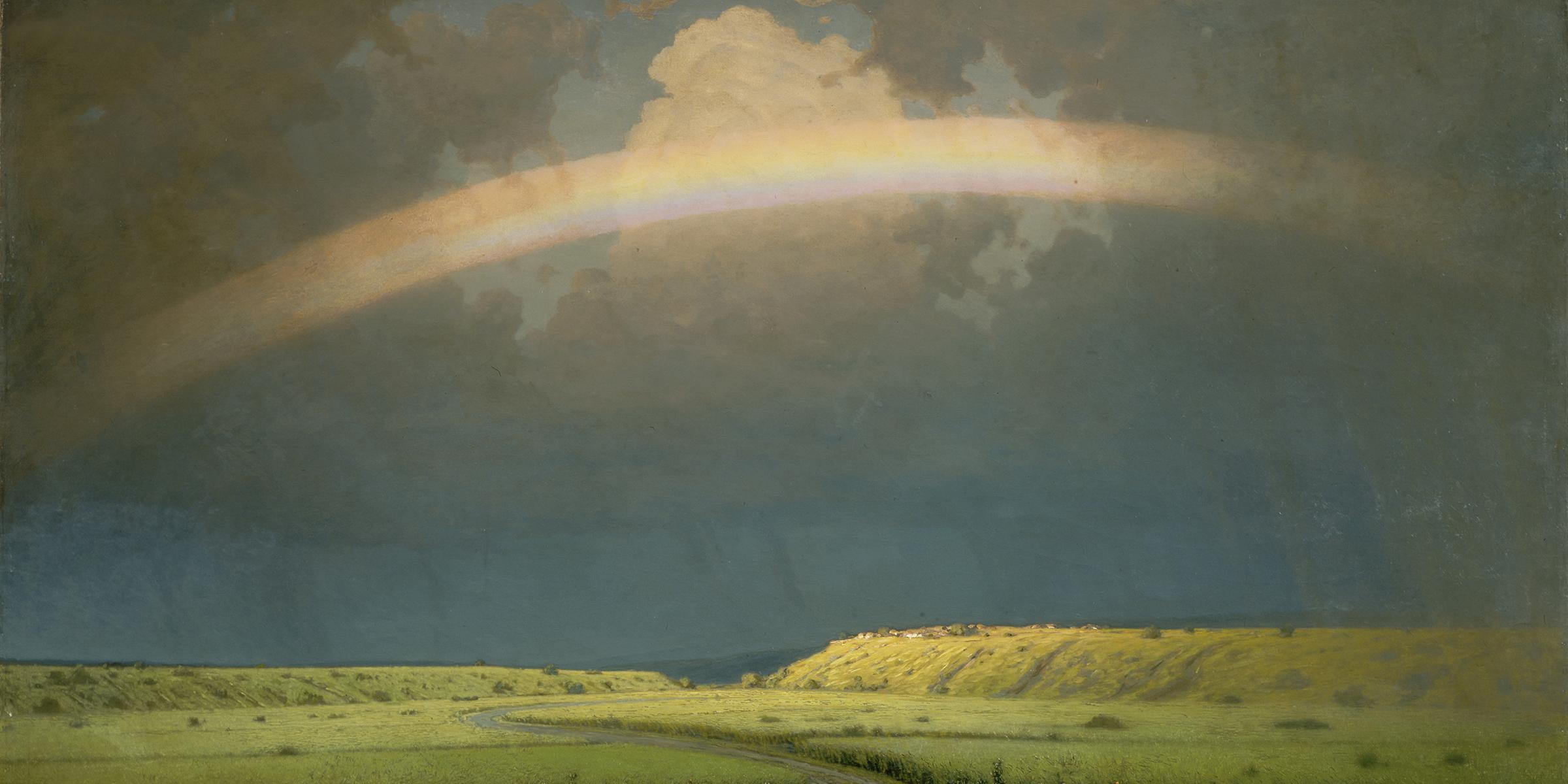 The Rainbow (detail), by Arkhip Kuindzhi, c. 1900. © Scala/Art Resource, NY.