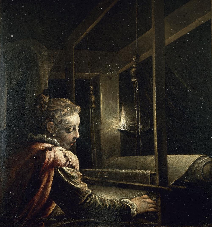 Penelope, by Leandro Bassano, c. 1600. © RMN-Grand Palais/Art Resource, NY.