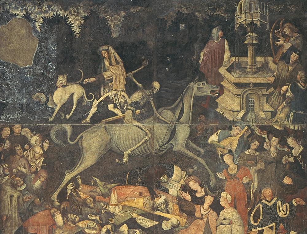 The Triumph of Death, fresco from the Palazzo Sclafani, Palermo, 1446