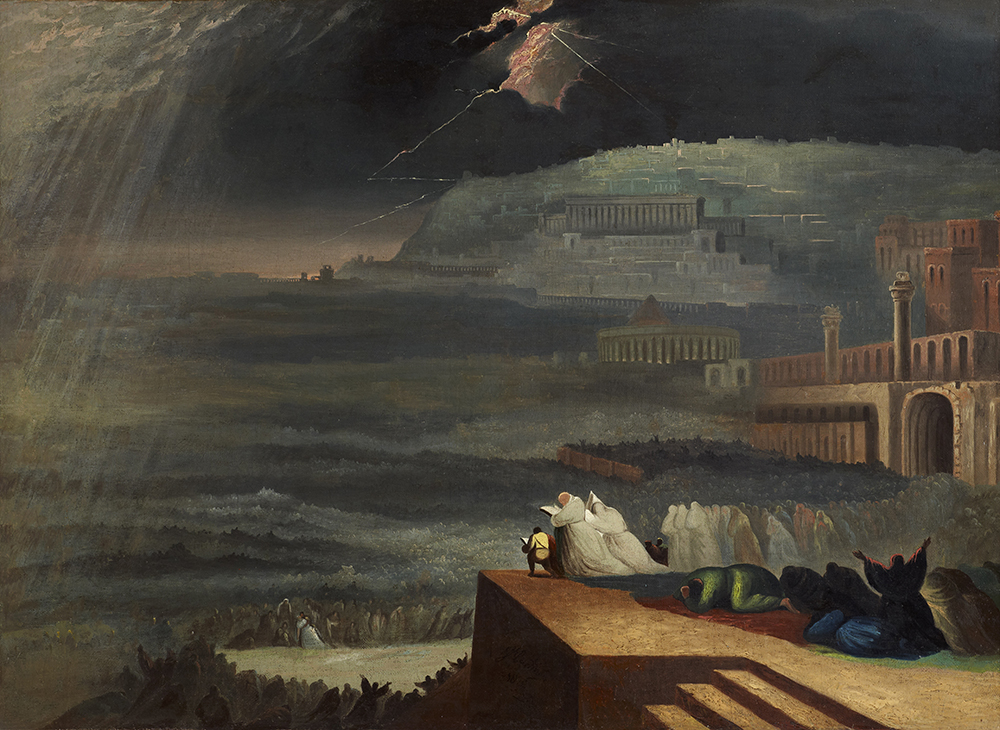 The Repentance of Nineveh, after John Martin, 1829. © National Trust Photo Library / Art Resource, NY.