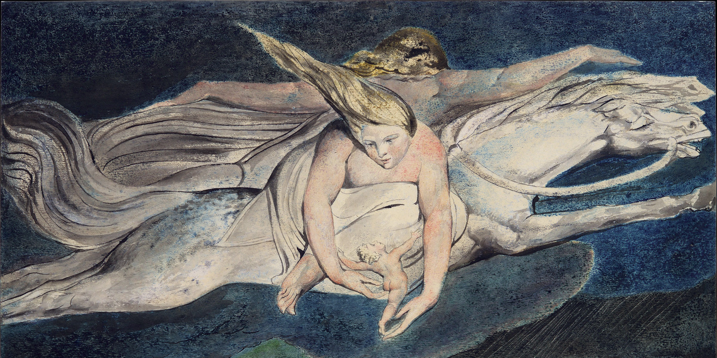 Pity, by William Blake, c. 1795.