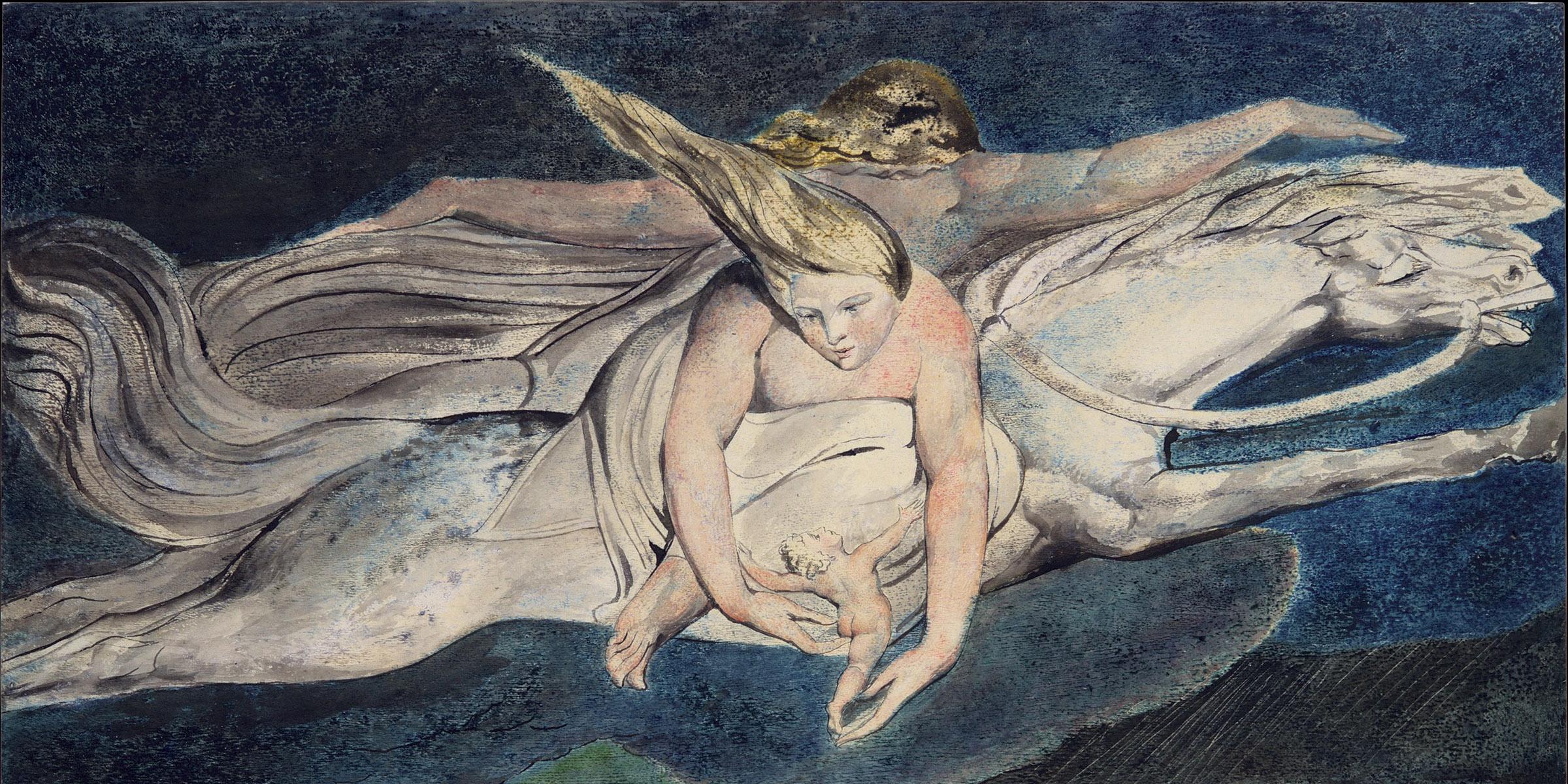Pity, by William Blake, c. 1795.
