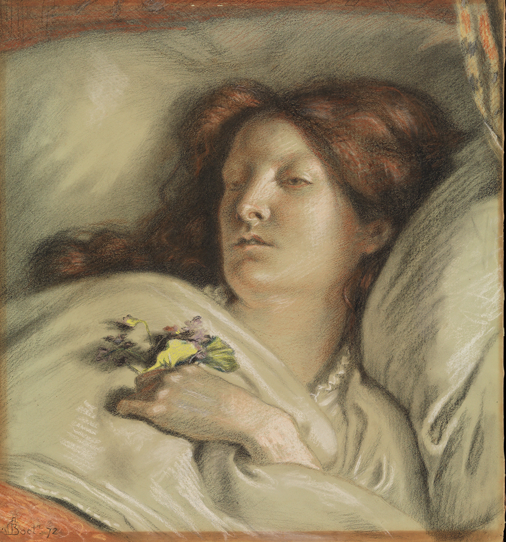 The Convalescent, by Ford Madox Brown, 1872