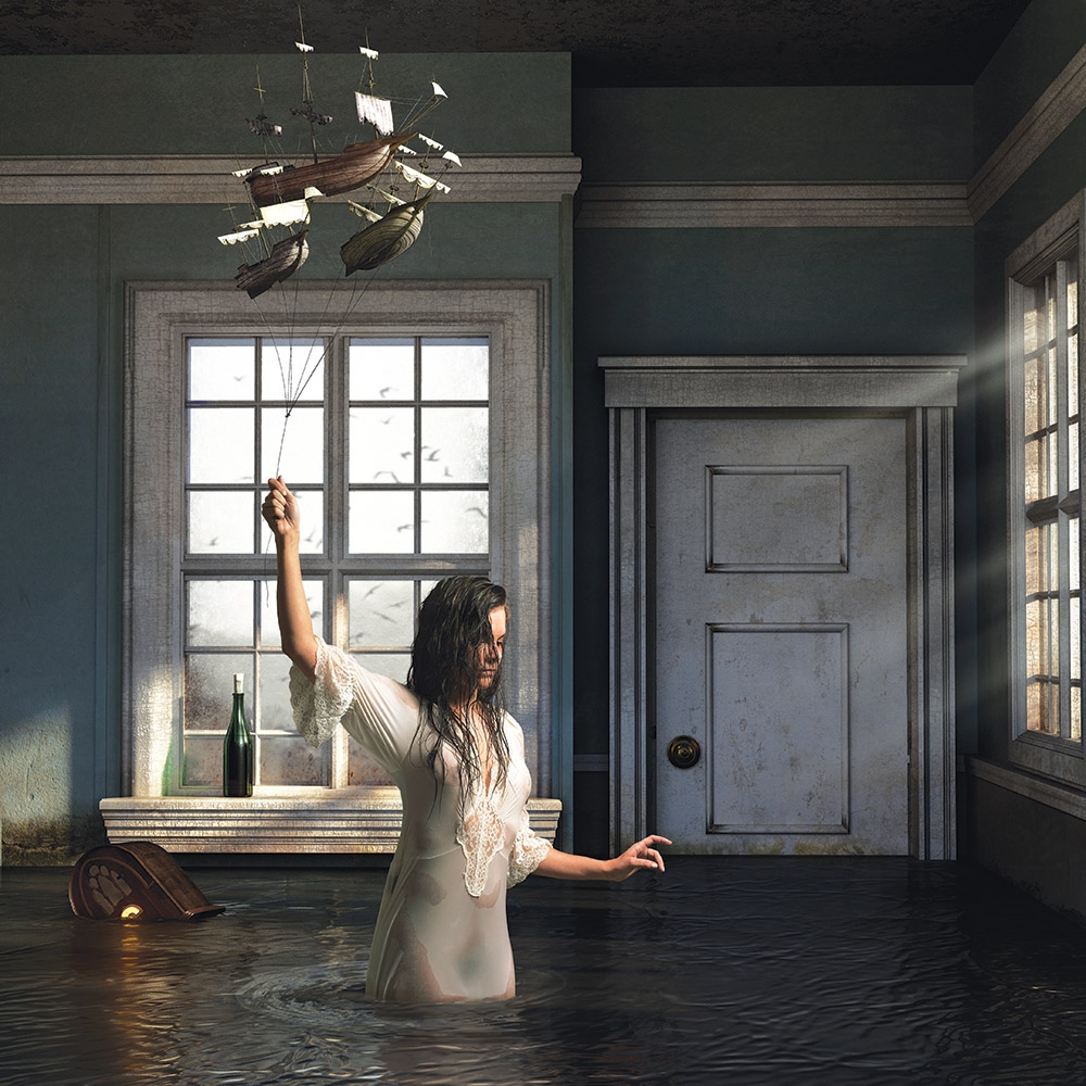 Into the New World, by Jamie Baldridge, 2009–11. Archival pigment print, 42 x 42 inches.