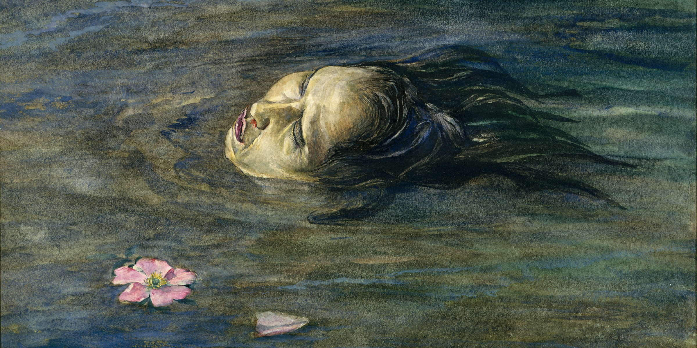 The Strange Thing Little Kiosai Saw in the River (detail), by John La Farge, 1897. The Metropolitan Museum of Art, Rogers Fund, 1917.