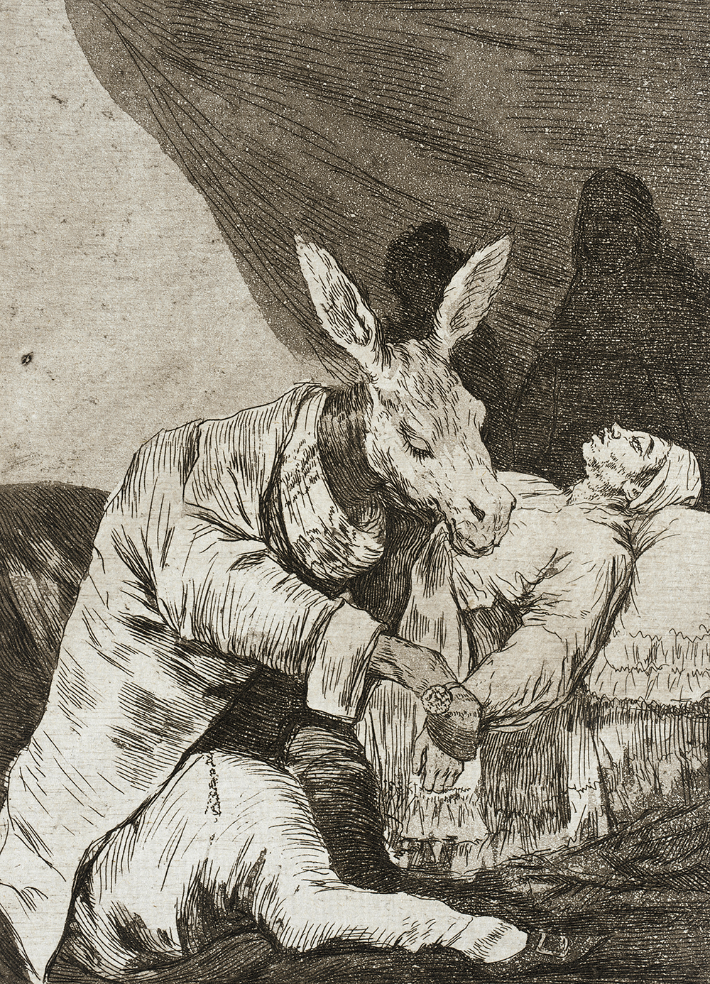 Of What Ill Will He Die?, by Francisco Goya, 1799
